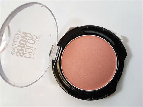 Maybelline Blush On Color Show maybelline color show blush cinnamon review