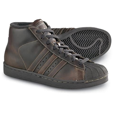 Sport Shoes Model 3017 s adidas 174 pro model retro hi tops brown 92318 running shoes sneakers at sportsman s guide