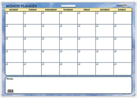free printable monthly wall planner free monthly planner printable 2017