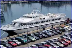 ferry catamaran novalja dubrovnik korcula hvar bol split catamaran