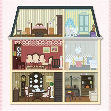 doll house clipart 870 best images about printable on pinterest lds manualidades and m photos