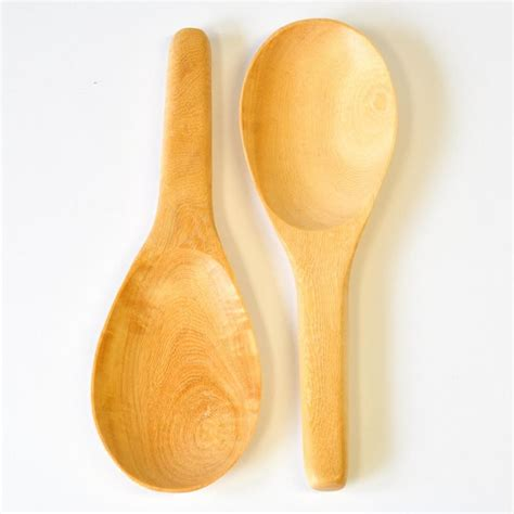 Wooden Rice Spoon rice spoon wooden cutlery bright