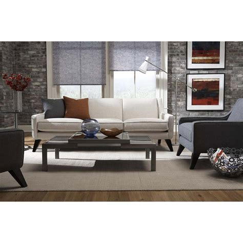 lily sofa younger furniture lily collection fabric leather sofa love seat chair