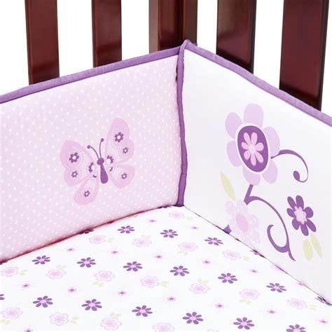 nojo infant s 4 crib bumper set butterfly