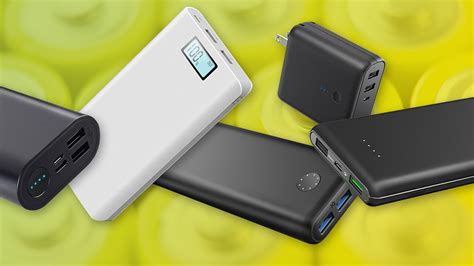 best usb portable charger best power banks of 2018 the top usb portable chargers