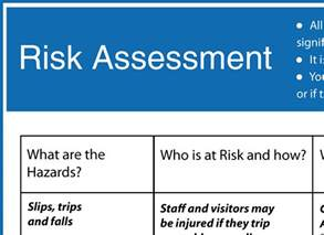 retail risk assessment template a category for all our free health safety and food