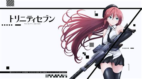 wallpaper anime trinity seven trinity seven asami lilith wallpaper no 435427