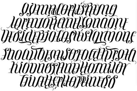 tattoo fonts net ambigram ambigram fonts letters alphabet rtana