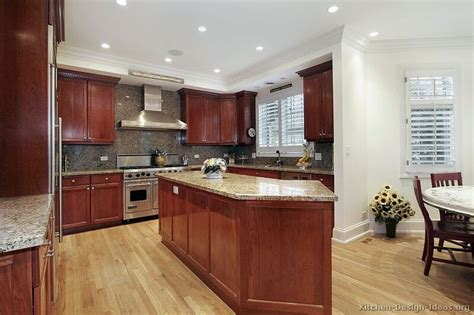 85 best images about cherry color kitchens on cherry kitchen traditional and