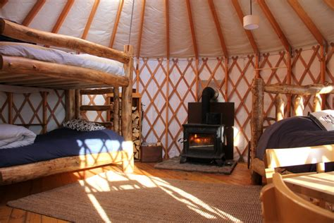 Octagon Houses sleep yurts get in touch with nature and fall to sleep