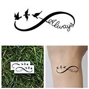 Infinity Symbol With Birds Always Birds Infinity Symbol Temporary