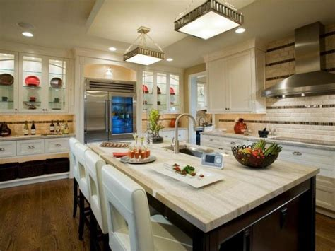 Best Countertops For Kitchen White Granite Kitchen Countertops Pictures Ideas From Hgtv Hgtv