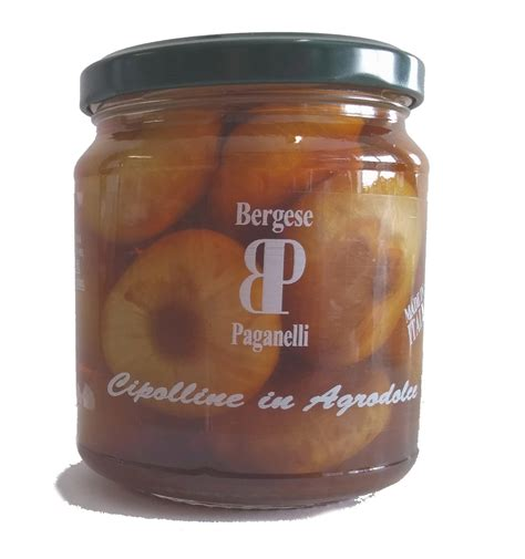 cipolline in agrodolce in vaso bergese paganelli