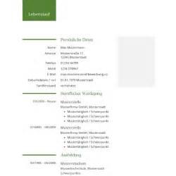 Lebenslauf Vorlagen Word 2007 Kostenlos Lebenslauf Vorlage F 252 R Word Tabellarischer Lebenslauf