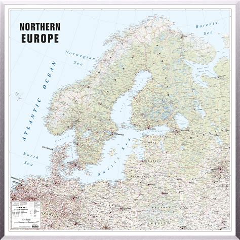 map of northern europe map of northern europe regio