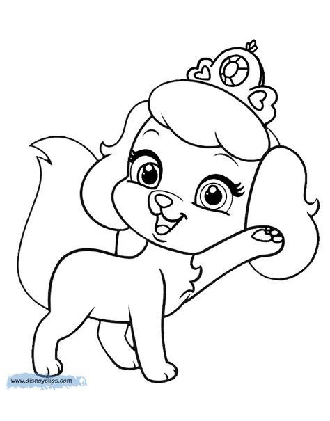cinderella dog coloring pages cinderella dog coloring pages palace pets coloring pages