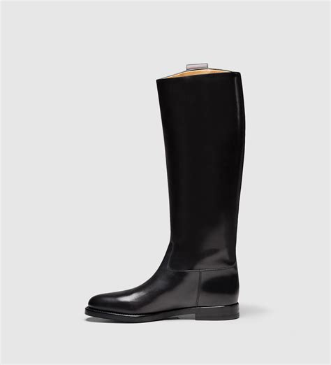gucci s leather boot from equestrian collection