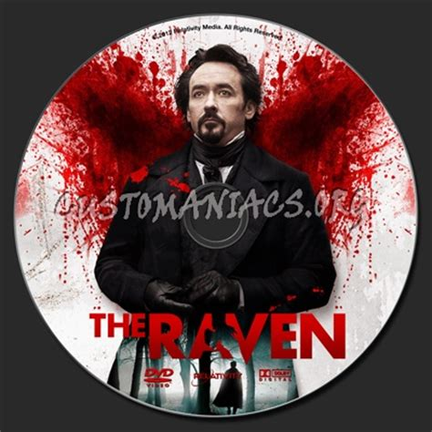 printable version of the raven the raven dvd label dvd covers labels by customaniacs