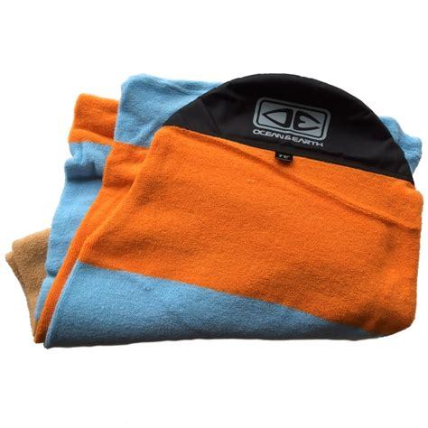 Oceanseven Cotton Bag World Traveler 9 and earth surfboard longboard sock 9ft