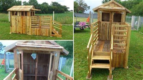 Costruzioni Con Bancali by 4 Idee Per Costruire Una Casa In Pallet Di Legno In