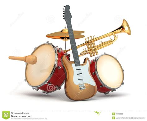 guitar drum musical image from http thumbs dreamstime z musical