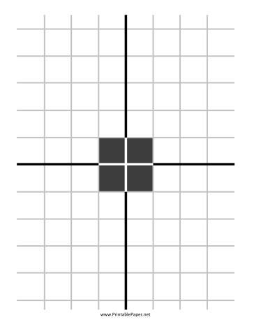 printable grid shooting targets printable grid square center target