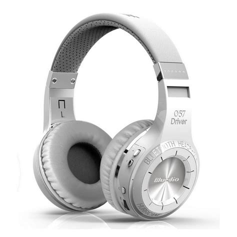 Promo Bluedio H Plus Turbine Headphone With Bluetooth 4 1 Putih bluedio h turbine bluetooth blanco auricular headset