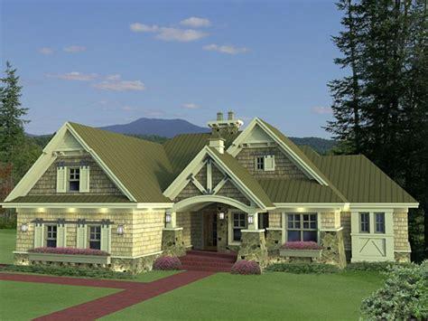 1.5 story craftsman house plans