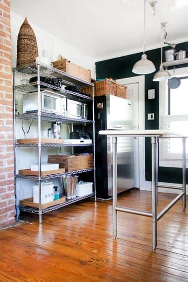 smart ways   wire shelves   kitchen small