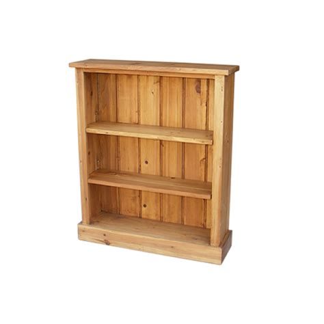 rustic bookshelves rustic pine uni bookcase 700 mm