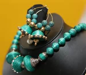 Handmade Paper Jewellery - pushkala handmade paper jewelry at best price