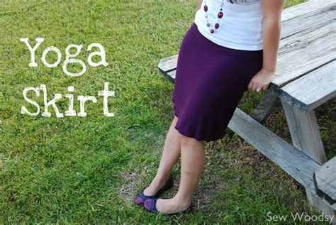tutorial yoga sew woodsy tutorial yoga skirt
