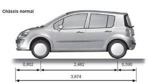 Renault Modus Dimensions Renault Modus Dimensions Caract 233 Ristiques Techniques