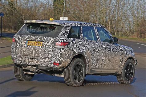 100  [ New Land Rover Defender Spy Shots ]   2017 Land