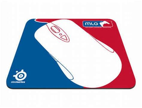 Mousepad Mlg steelseries and mlg come together in collaboration