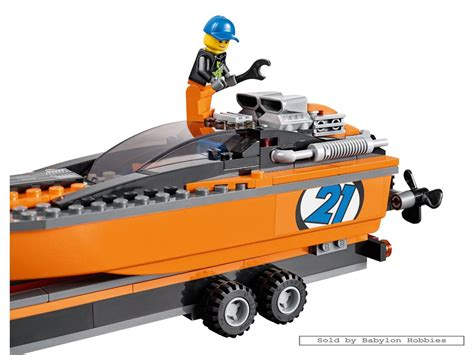 Lego City 60085 4x4 With Powerboat Set Power Motorcar Truck Boat lego city 4x4 with powerboat by lego 60085 ebay