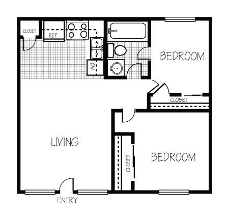 700 Sq Ft 2 Bedroom Floor Plan 600 Sq Ft Floor Plan Teeny Tiny Homes Pinterest