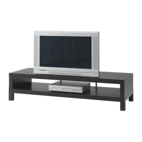 lack tv unit black brown ikea