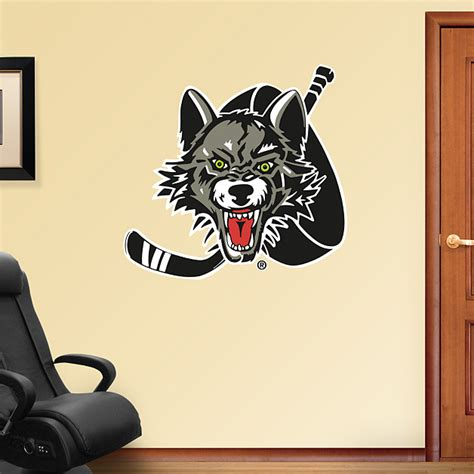 Chicago Wolves Giveaways - chicago wolves logo wall decal shop fathead 174 for chicago wolves decor