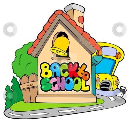 back to school theme 2 stock vector