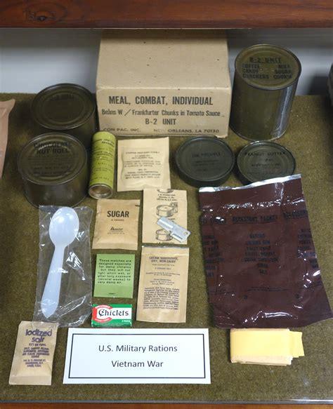 c survival file rations war fort devens museum