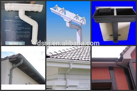 tubos cuadrados de pvc pvc cuadrado alcantarilla canalones roofing de lluvia de