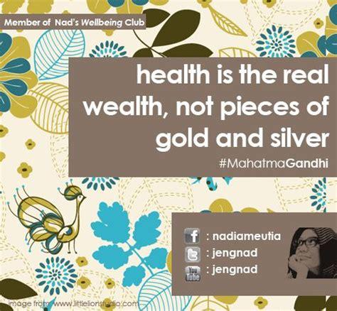 film motivasi fitness health is the real wealth gandhi health quote motivasi
