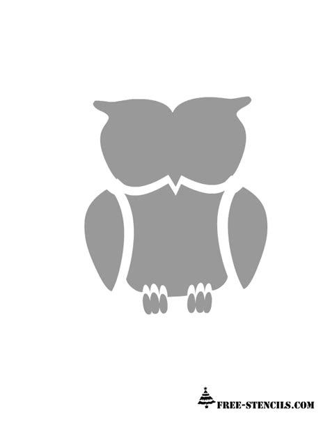 printable owl stencils 1000 images about stencils on pinterest spa logo