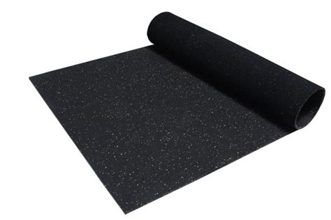 Weight Room Mat by Incstores Rubber Mats 4ft X 6ft Durable Heavy Duty
