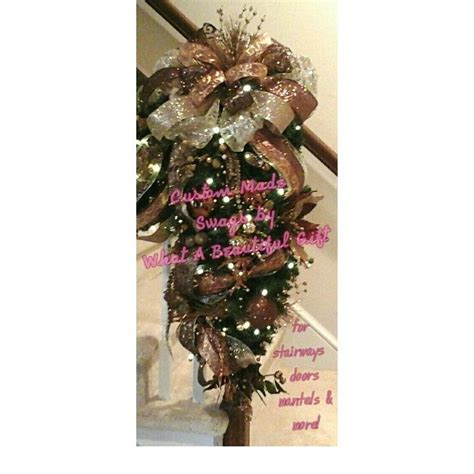 elegant lighted garland 140 best swags wreaths images on bunting garlands