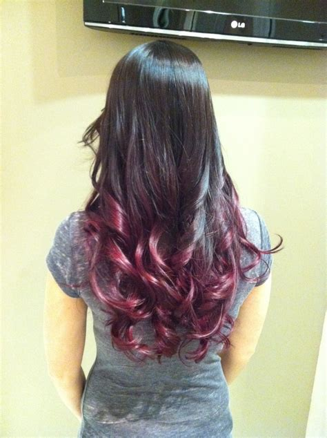 Ombre Lipstick Burgundy brown burgundy ombre hair brown ombre and hair makeup