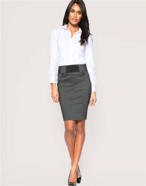 moda de oficina de mujer en pinterest faldas vestidos y falda tubo 191 c 243 mo se usa actitudfem