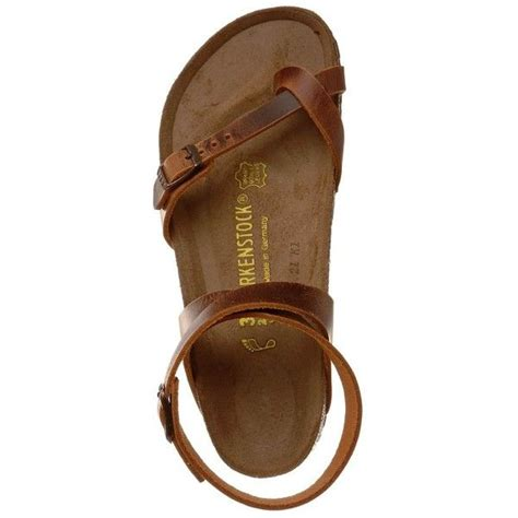 Flat Shoe Crc birkenstock yara 29 985 crc liked on polyvore featuring