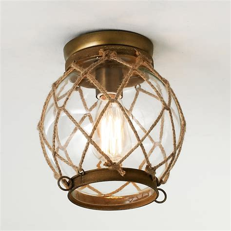 nautical flush mount light image gallery nautical ceiling light fixtures